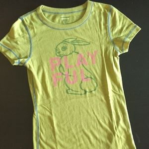 "Hollister Tops - Hollister ""Playful"" Graphic T-Shirt"